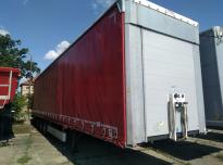 FLIEGL SDS 380 Curtain trailer