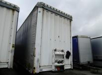 KRONE Curtain trailer