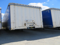KRONE SD  Curtain trailer
