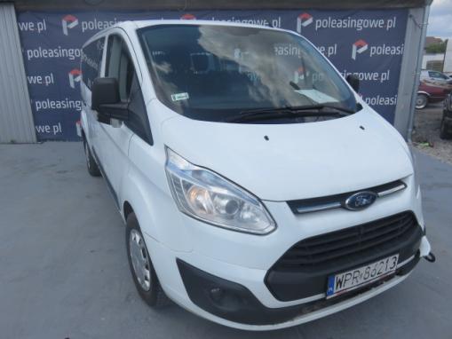 FORD TRANSIT-CUSTOM VAN (minibus)