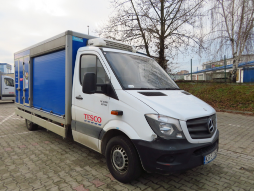 MERCEDES BENZ SPRINTER FRIDGE TRUCK/ISOTHERM
