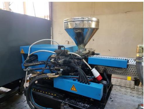 Wtryskarka hydrauliczna BORCHE BS-120