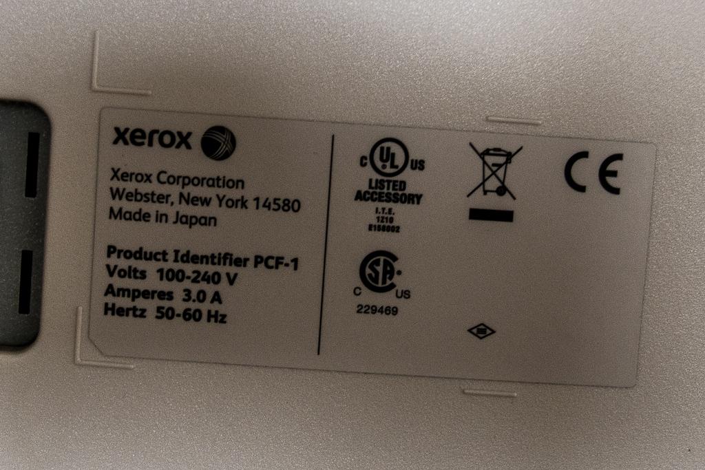 poleasingowe XEROX D125 - 26 100 PLN, 2014, Printer
