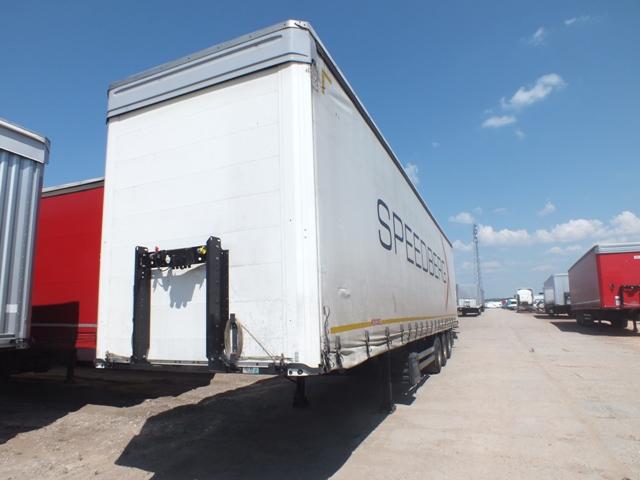 poleasingowe KOEGEL SN 24 - 66 908 PLN, 2017, Curtain trailer