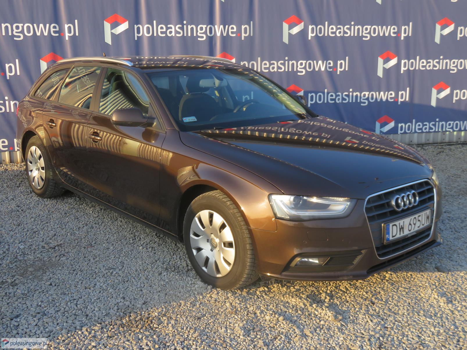 poleasingowe AUDI A4 49 300 PLN 2014