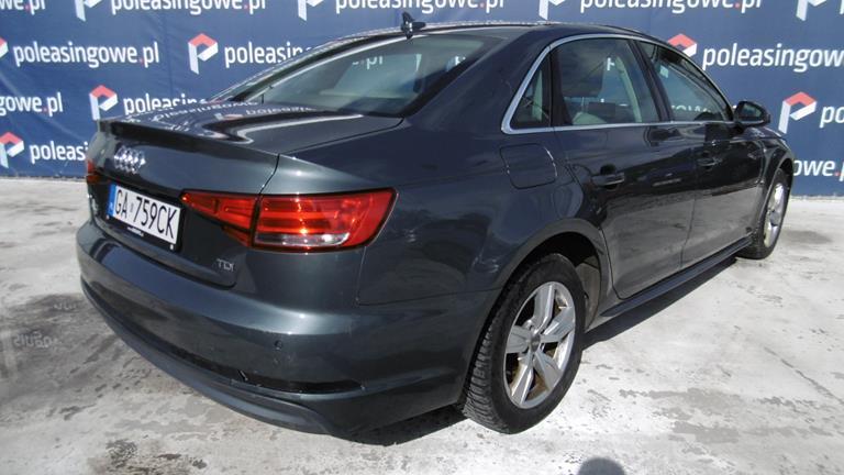 Poleasingowe Audi A4 57 696 Pln 2016 Sedan